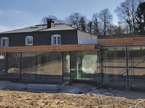 Projet d'annexe de maison (RIE)